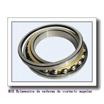 90 mm x 125 mm x 18 mm  NSK 7918 C Rolamentos de esferas de contacto angular