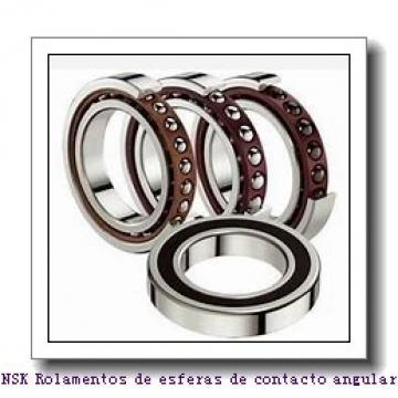 10 mm x 30 mm x 9 mm  NSK 7200A5TRSU Rolamentos de esferas de contacto angular