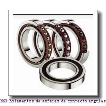 30 mm x 67 mm x 51,8 mm  NSK 30BWK10 Rolamentos de esferas de contacto angular