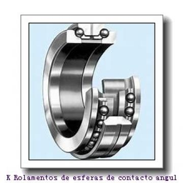60 mm x 95 mm x 18 mm  NSK 60BNR10X Rolamentos de esferas de contacto angular